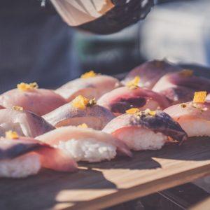 Baja Kanpachi Nigiri Sushi
